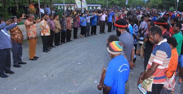 Tim Relawan Op Yahukimo Resmi Dikukuhkan Dharapos Papua