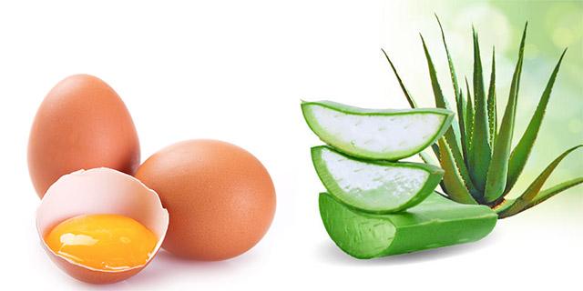 yumurta akı ve aloe vera jeli maskesi tarifi - KahveKafe