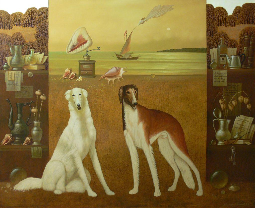 Dick herter and greyhound