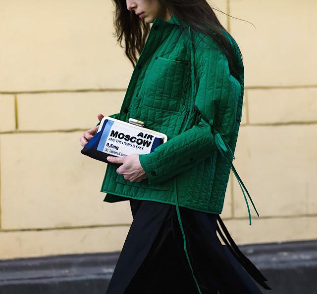 Moscow Fashion Week A/W 16-17 Street Style