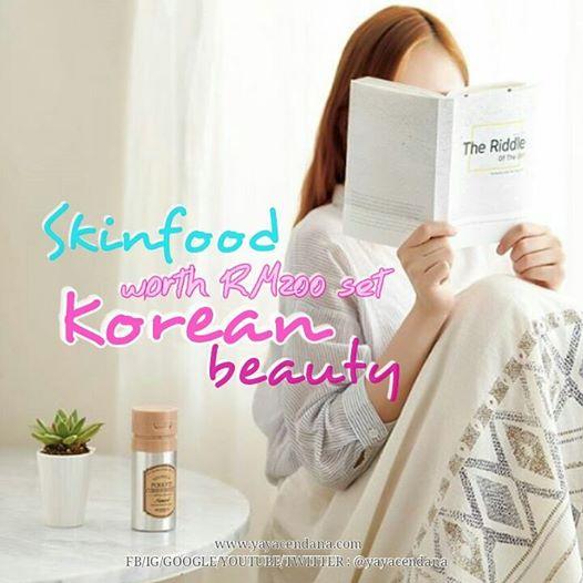 Saya Nak Menang Set Skinfood Bernilai RM200