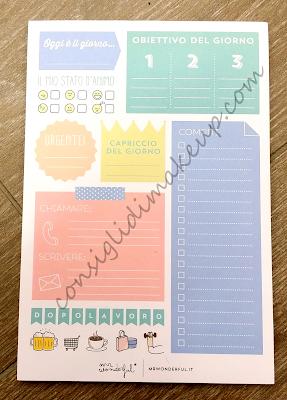 Haul Mr. Wonderful: Agende, Planner e Block notes!