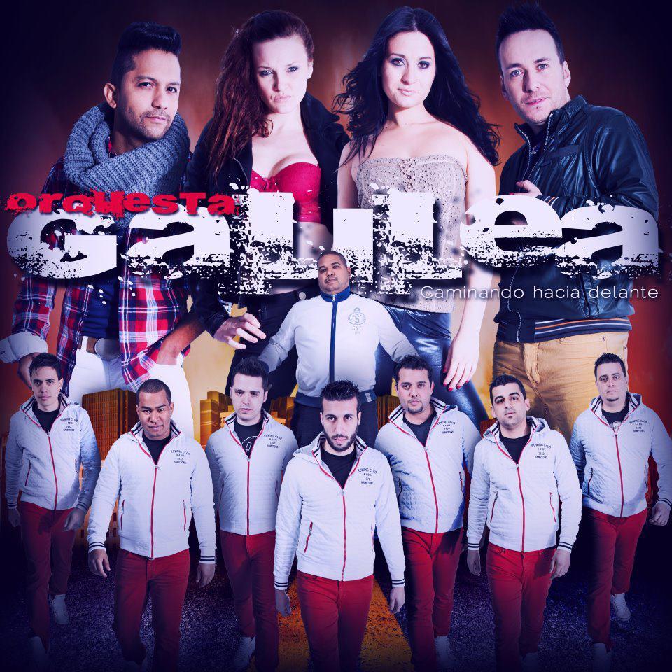 Cartel de la Orquesta Galilea
