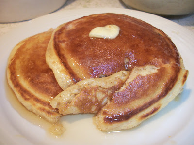 The Big Green Bowl Pancakes