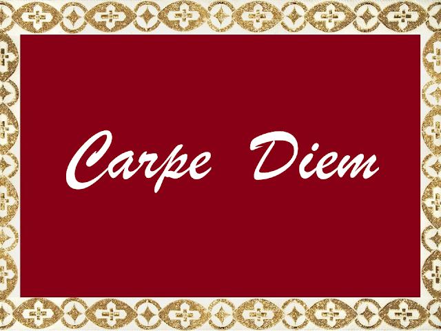 «Carpe Diem» - Παρέα της Τρίτης 10-1-2017