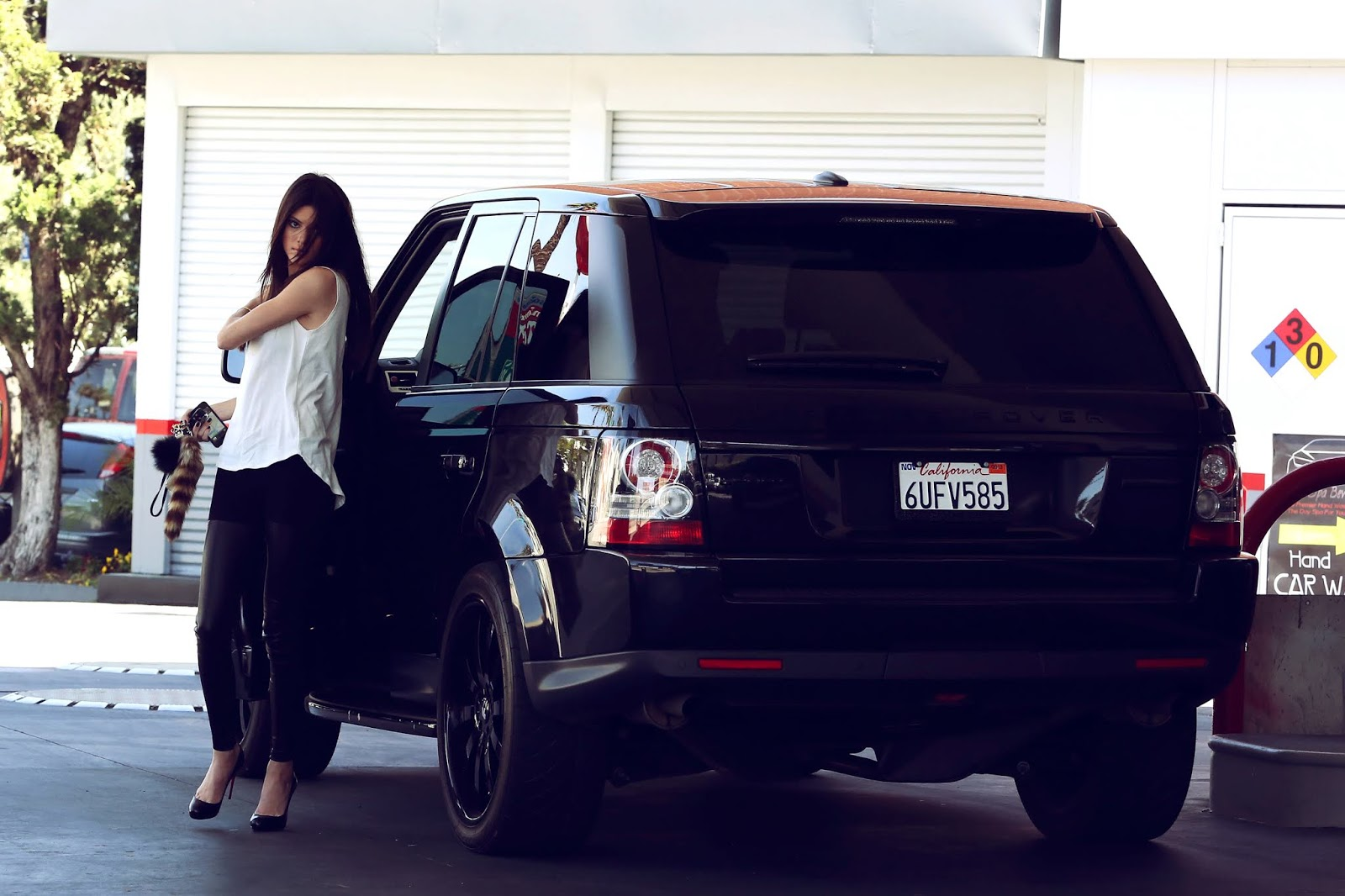 - Out & About in Los Angeles California on April 11t, 2012