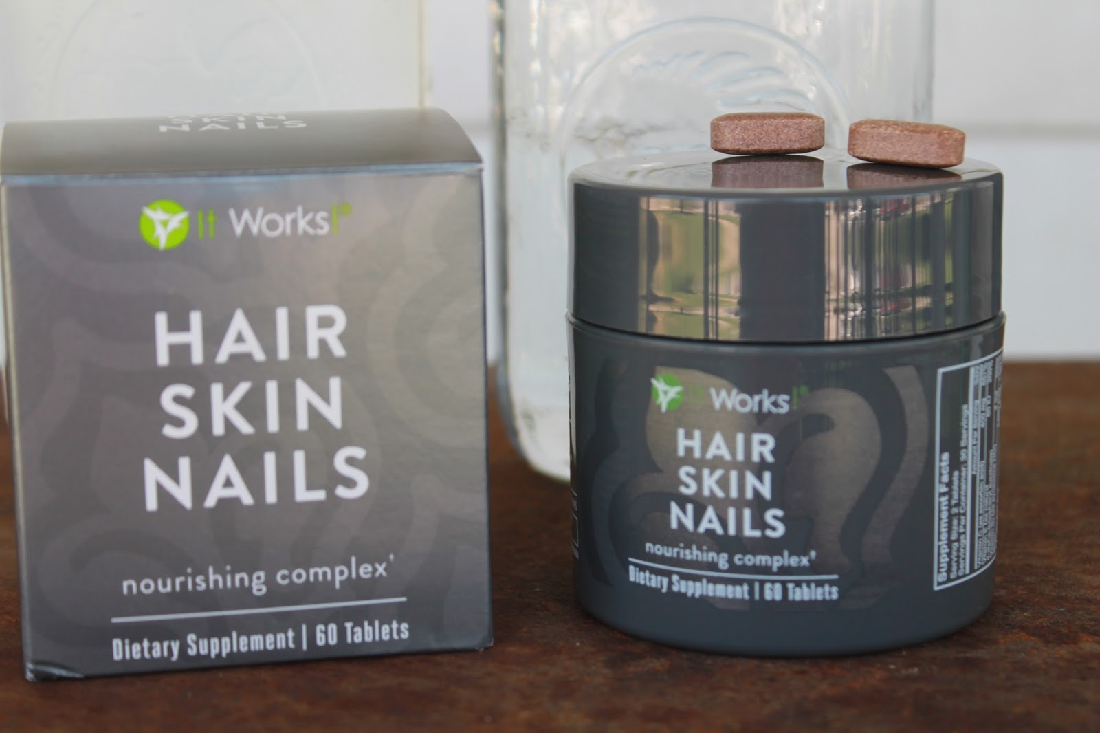 It Works! Hair, Skin, Nails (water) - Homeschooling 6