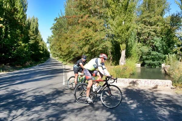 Cómo serán las salidas en bicicleta en Roca