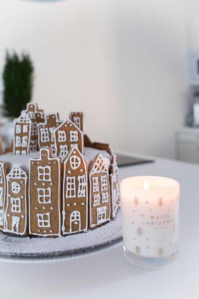 Villa H, resepti, porkkana kinuski kakku, joulukakku, christmas cake, leivonta
