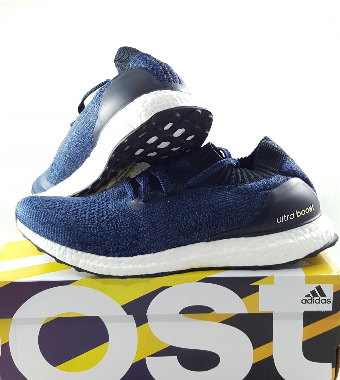 ADIDAS ULTRABOOST UNCAGE NAVY BLUE (SOLD)