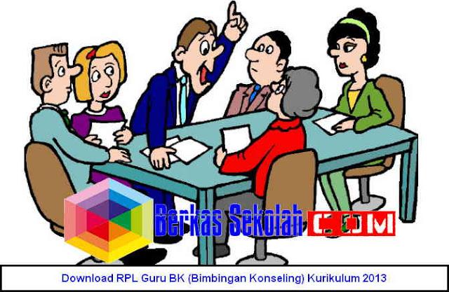 Gratis Download RPL Guru BK (Bimbingan Konseling) Kurikulum 2013