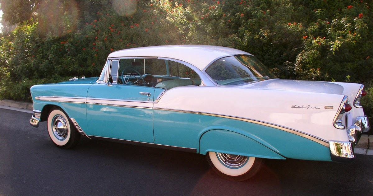 All American Classic Cars 1956 Chevrolet Bel Air 2 Door