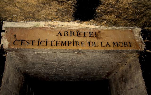 Catacumbas de Paris na França