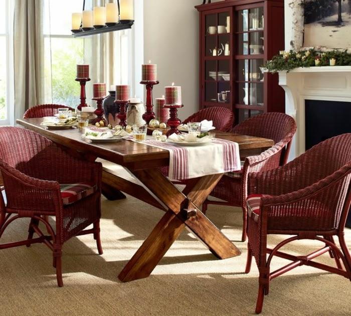 decoracin mesa navidea