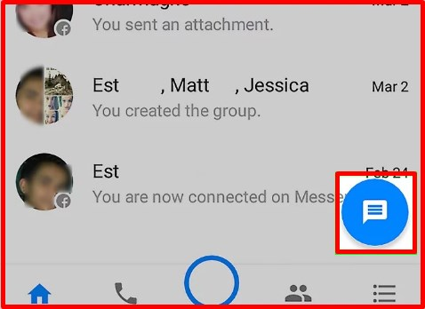 how to see archived messages on facebook messenger app android