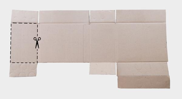 ανάπτυγμα χαρτόκουτου, ανάπτυγμα κουτιού, σχέδιο κουτιού