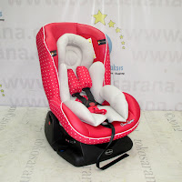 Convertible Car Seat CocoLatte CL806 Side Air Protection System