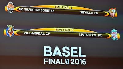 UEFA Europa League: Así se jugarán las semifinales del torneo