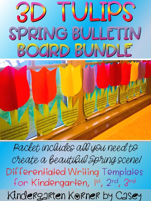 3D Tulips Bulletin Board