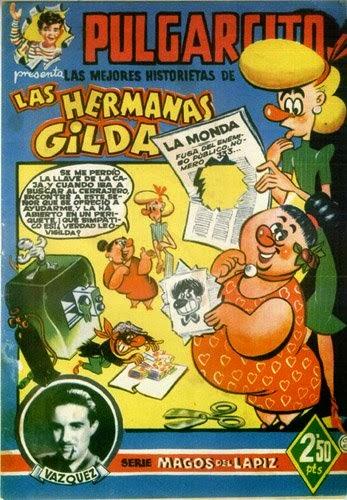 Magos del lápiz nº 11  Las hermanas Gilda