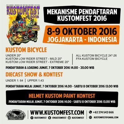 Kustomfest 2016 – Yogyakarta
