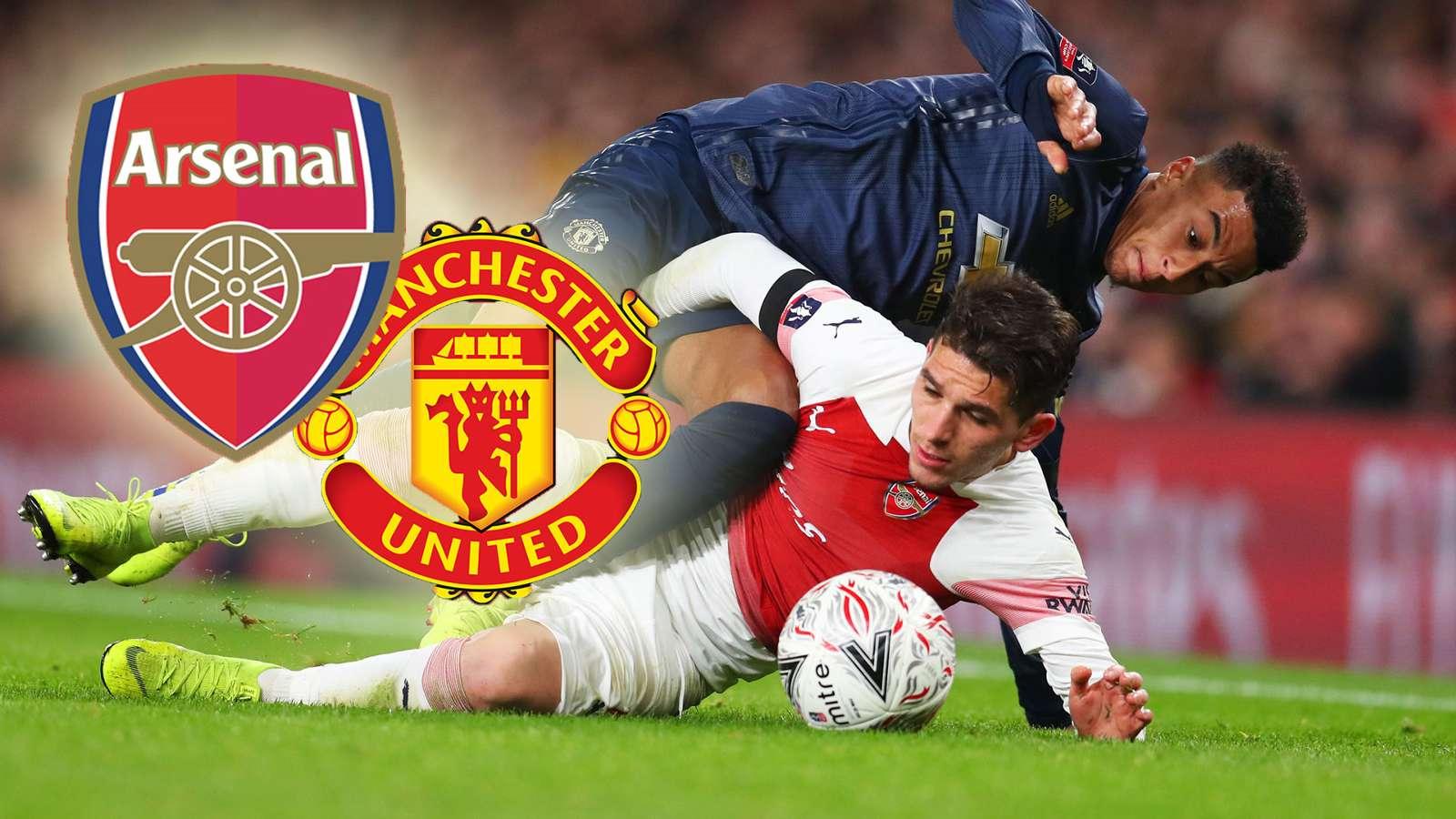 Prediksi Susunan Pemain Arsenal vs Manchester United