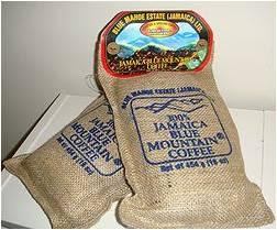 Τζαμαϊκανός καφές Blue Mountain, συσκευασμένος για τη λιανική πώληση.