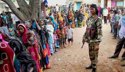 पश्चिम बंगाल मे तीसरे दौर के लिए वोटिंग जारी, आज 62 सीटों पर मतदान
