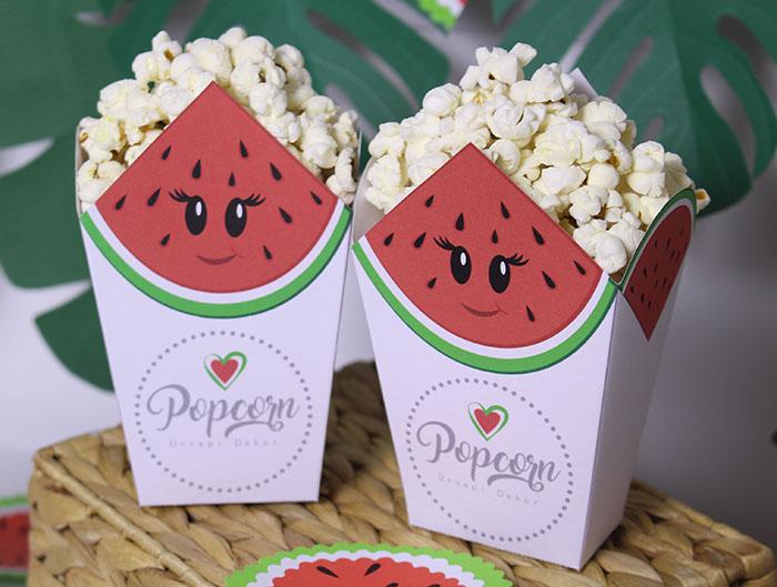 Popcorn tasak sablon - dinnyés
