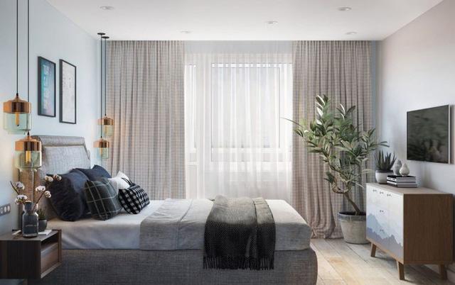 Thiết kế căn hộ 84m2 - Ảnh 12