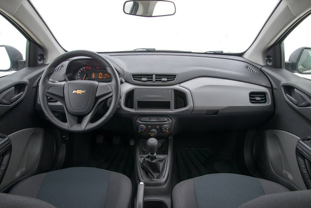Novo Chevrolet Prisma 2017 Joy - interior