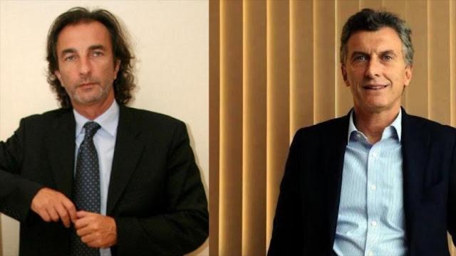 Citan como imputado al primo de Macri por caso Odebrecht