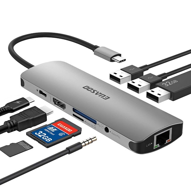 9 in 1 USB C Hub EUASOO