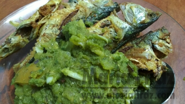 Resepi Ikan Goreng Sambal Hijau!