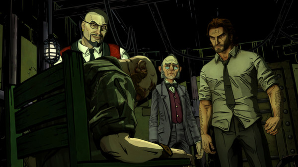 The Wolf Among Us PC Game