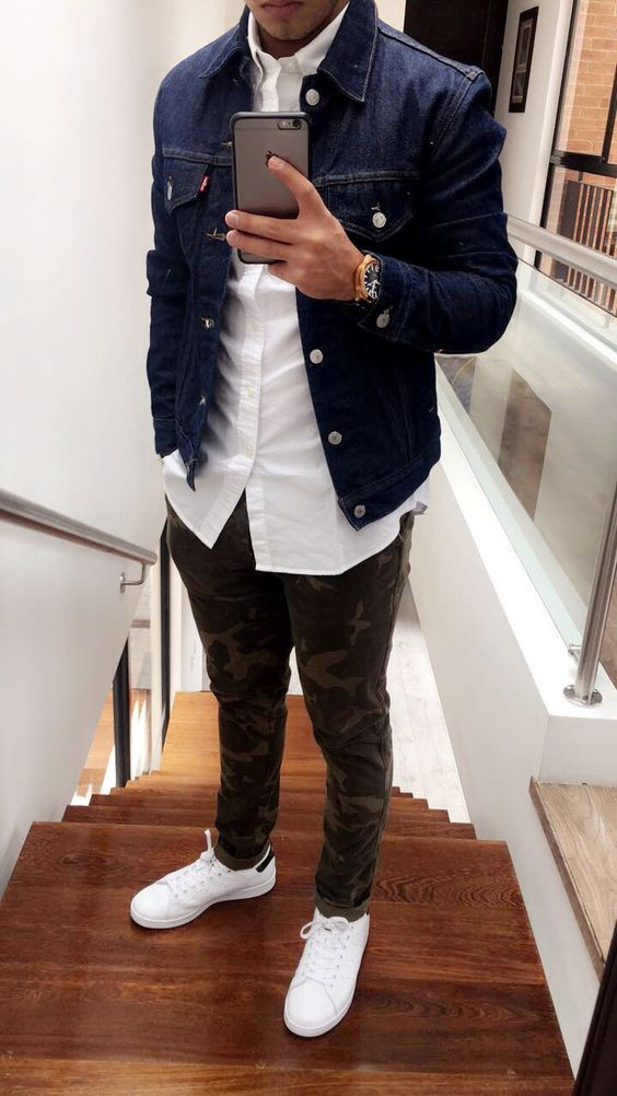 Look Masculino com Calça Camuflada Masculina