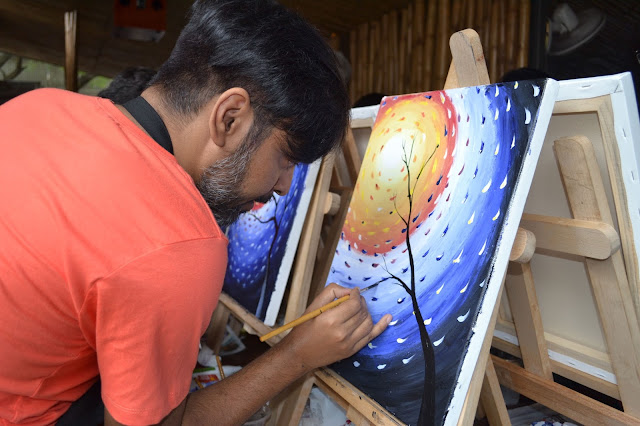 Popular artist Geetanjali Chatrath Talwar will conduct the live painting event on 8th October