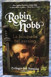 Portada del libro La búsqueda del asesino, de Robin Hobb