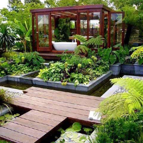Taman Minimalis untuk Rumah Mewah