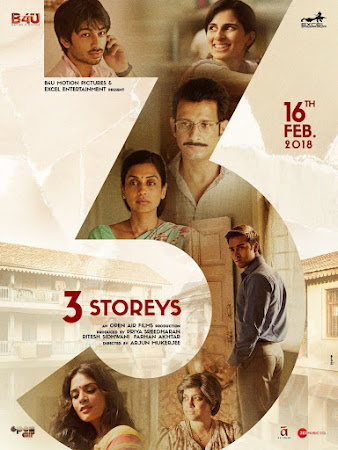 3 Storeys 2018 700MB Pdvd Hindi Movie