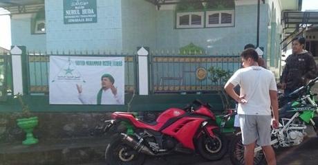 Meresahkan, Warga Bali Dihebohkan Spanduk FPI Bergambar Rizieq Shihab