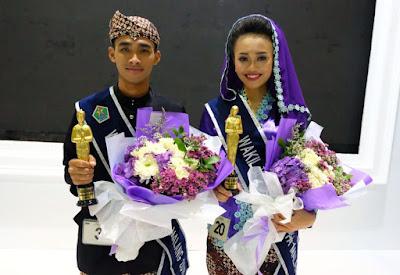 Doni Suryana dan Revina Laksmi, Terpilih Menjadi Kakang Mbakyu Kota Malang 2018