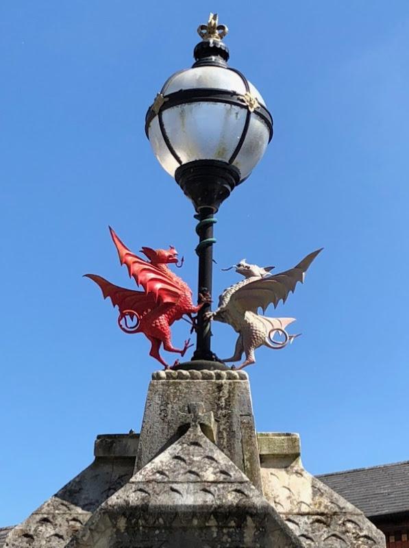Welsh dragons Pontypridd