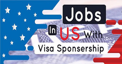 Jobs in USA with Sponsorship