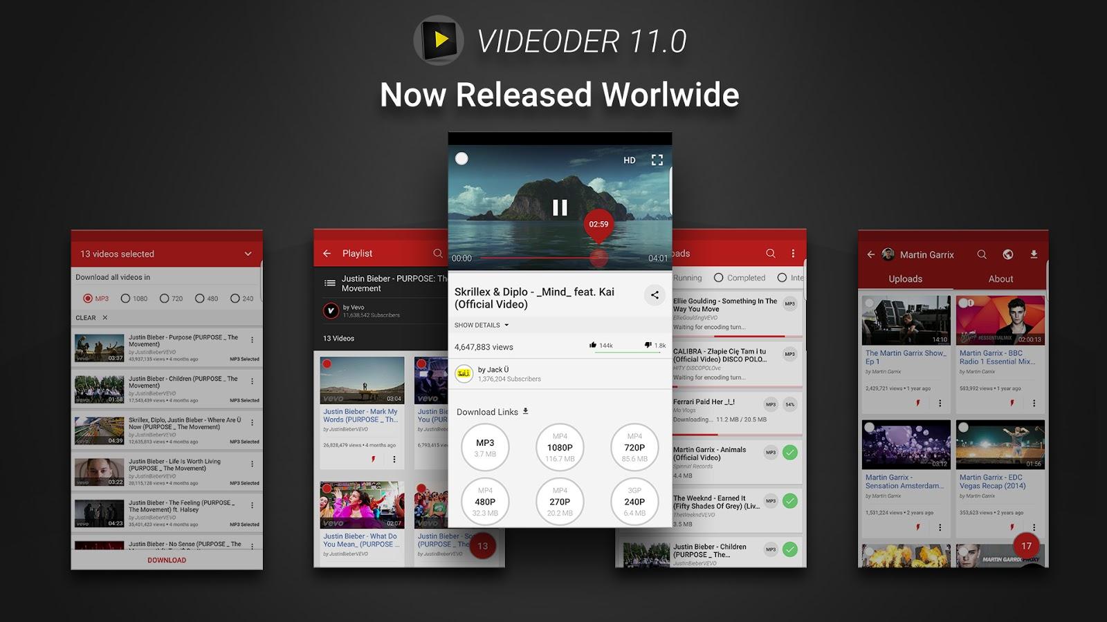 Télécharger des vidéos Youtube en 4K et HD avec Videoder. Apprenez comment télécharger des vidéos Youtube avec le téléchargeur de vidéos Youtube Videoder.