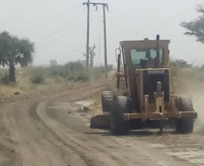 road construction project sambisa forest