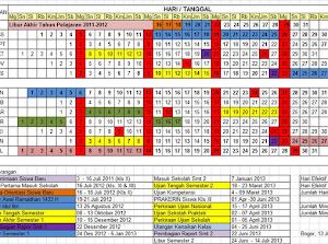 Aplikasi Kalender Pendidikan dan Perhitungan Jam efektif