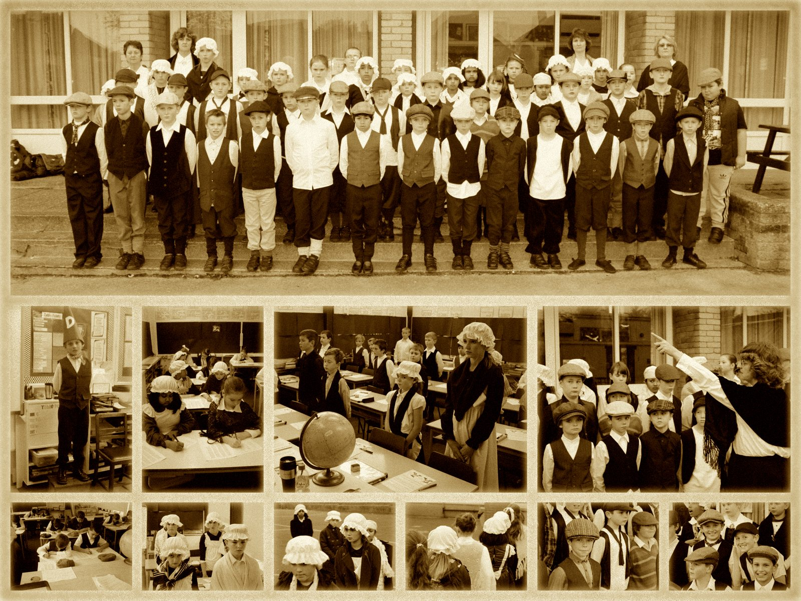 Hacton News Year 5 Victorian Day