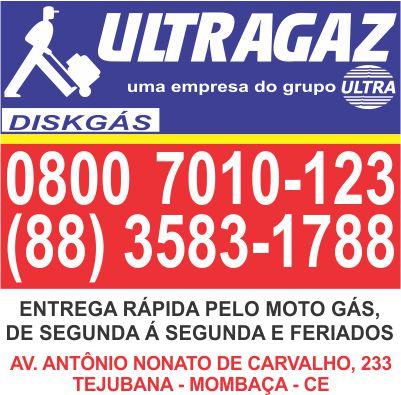 ULTRAGAZ  A ENTREGA MAIS RÁPIDA DE MOMBAÇA! ~ Mombaça On-Line 3f06ffce0d
