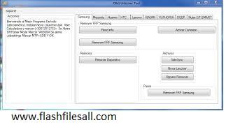 FRP Bypass Remover Unlocker Tool